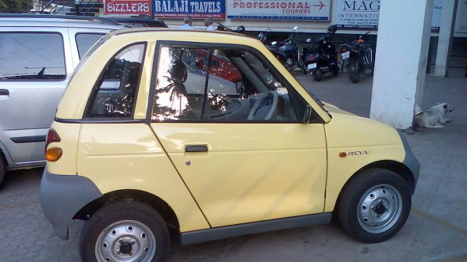 Reva Electric Car Price In Chennai