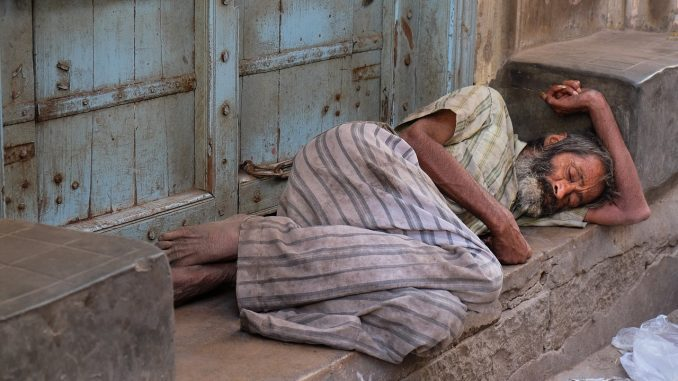 rain chill or heatwave homeless poor have few places to turn to