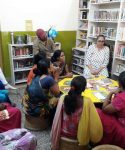 Books in their hand, dreams in their head: Community library project changes kids