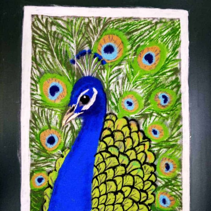 Prathama: Royal Blue: Peacock