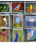 Birds in traditional art form: How a Bengaluru birdwatcher celebrated Navaratri