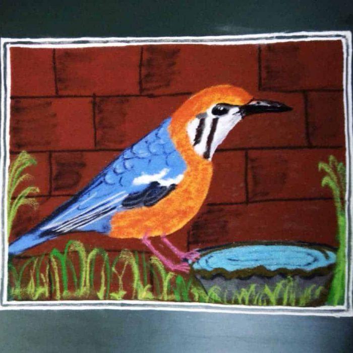 Panchami: Orange: Orange-headed Thrush