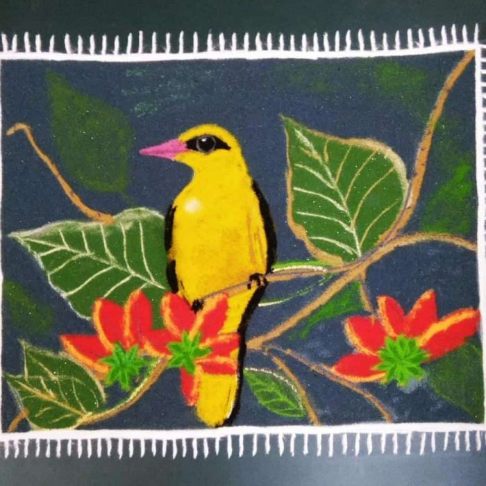 Dwitiya: Yellow: Golden Oriole