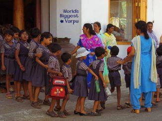 Representational image of children in school